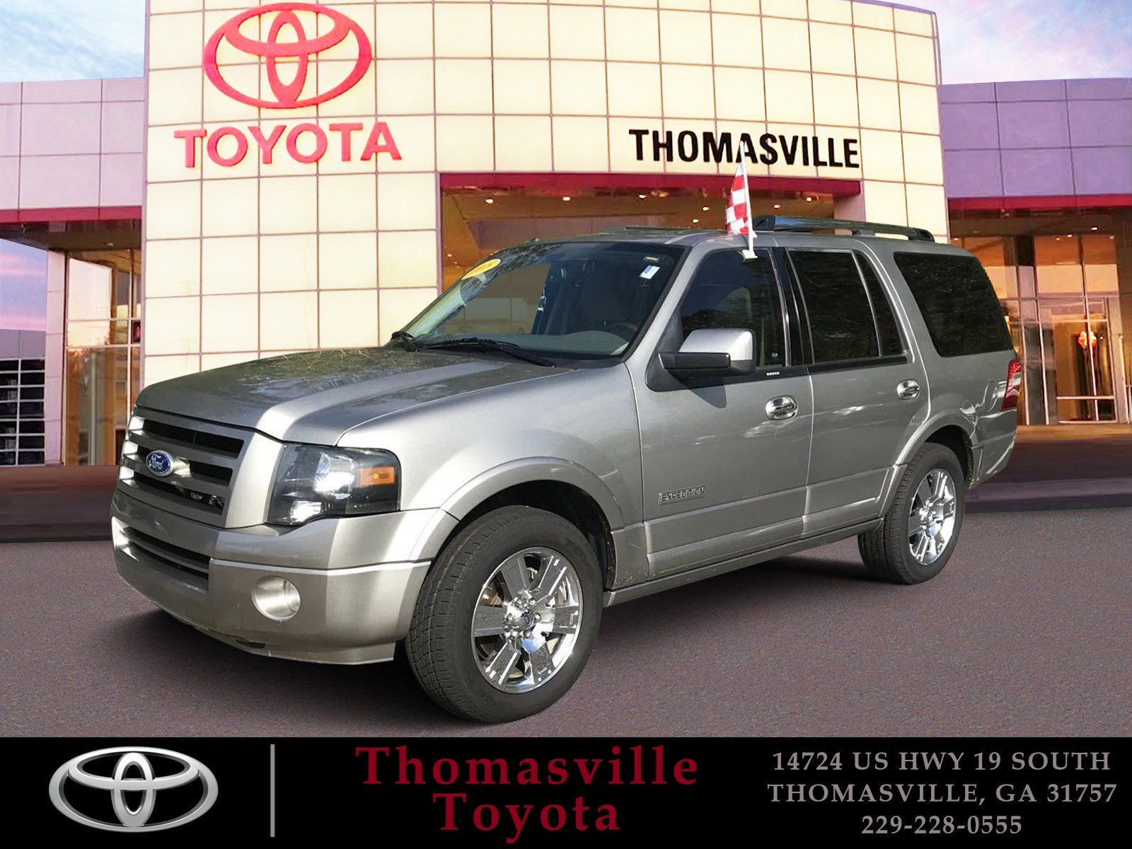 Pre owned 2008 ford expedition limited