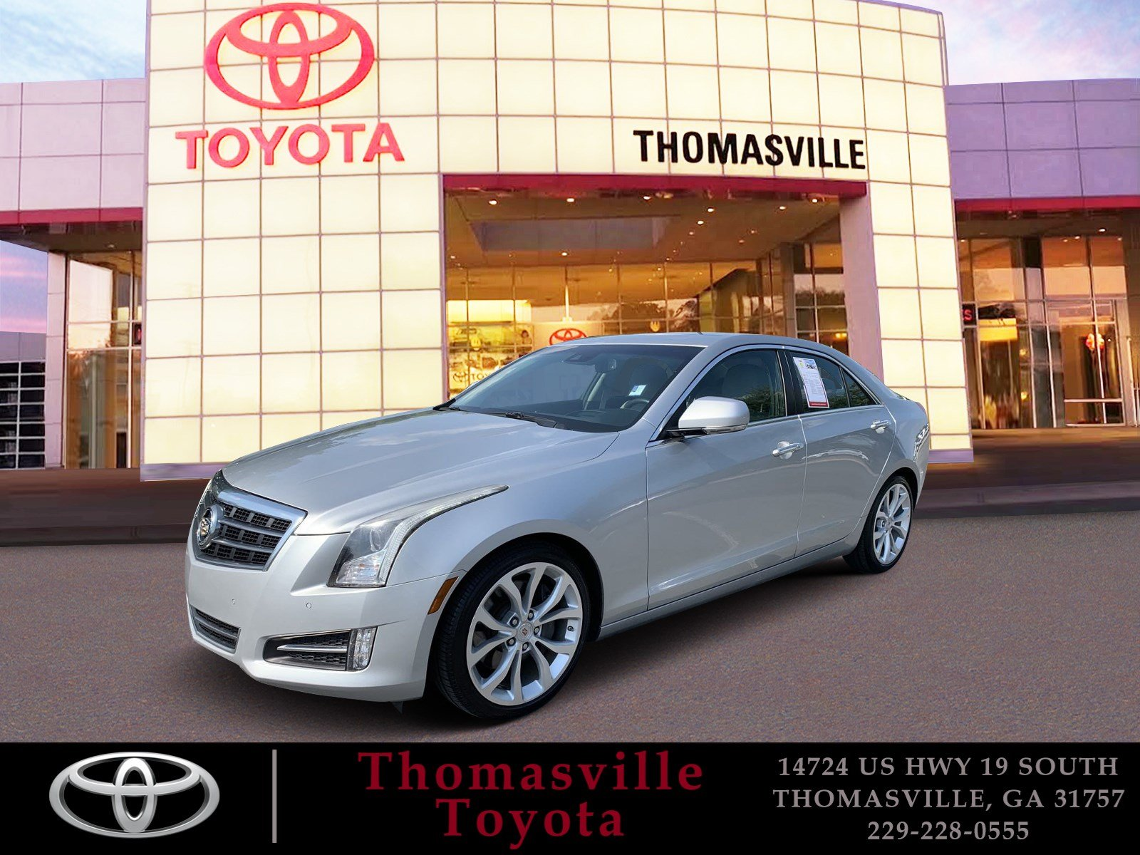 Pre-Owned 2013 CADILLAC ATS 2.0L TURBO PREMIUM