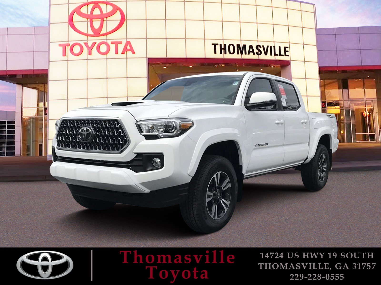 New 2019 TOYOTA TA A TRD SPORT Short Bed in Thomasville