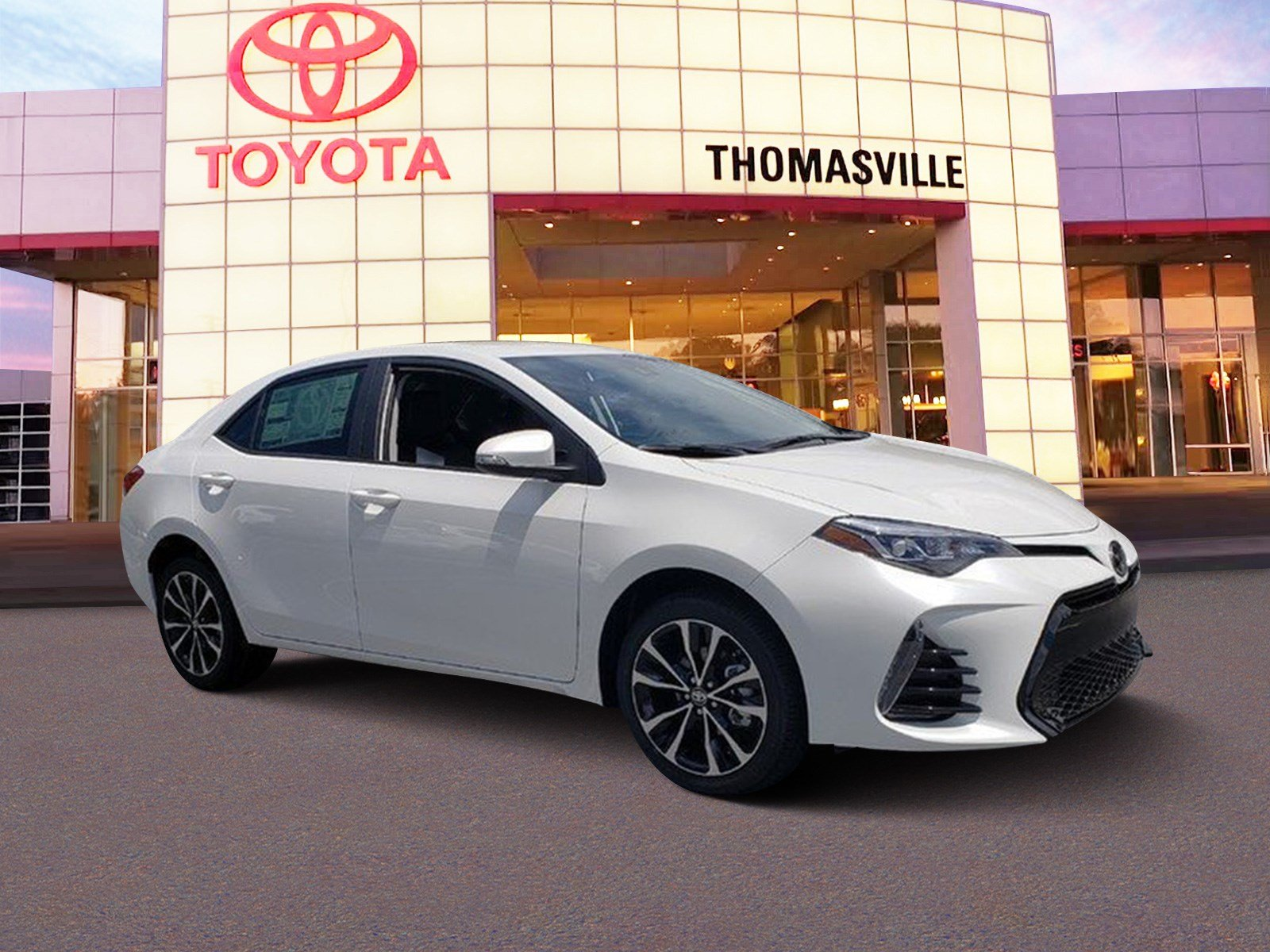 New 2019 TOYOTA COROLLA SE 4dr Car in Thomasville