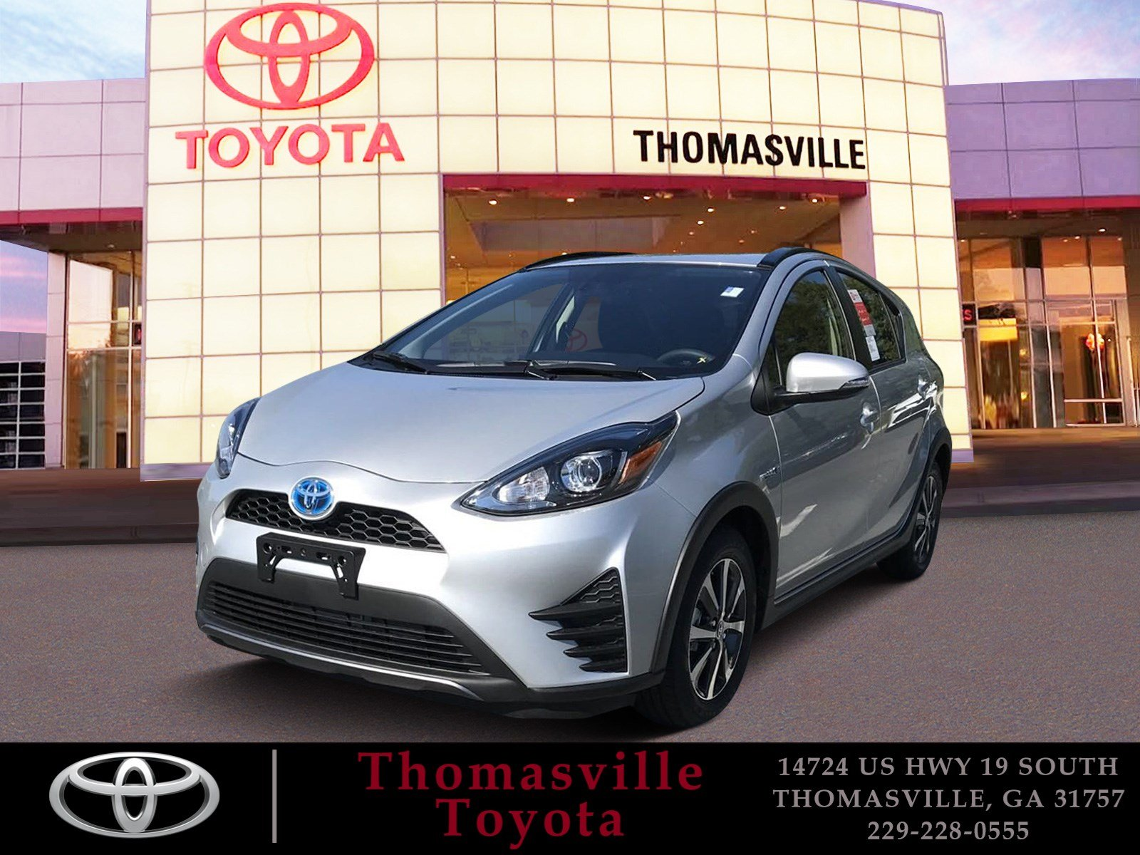 New 2019 TOYOTA PRIUS C LE Hatchback in Thomasville