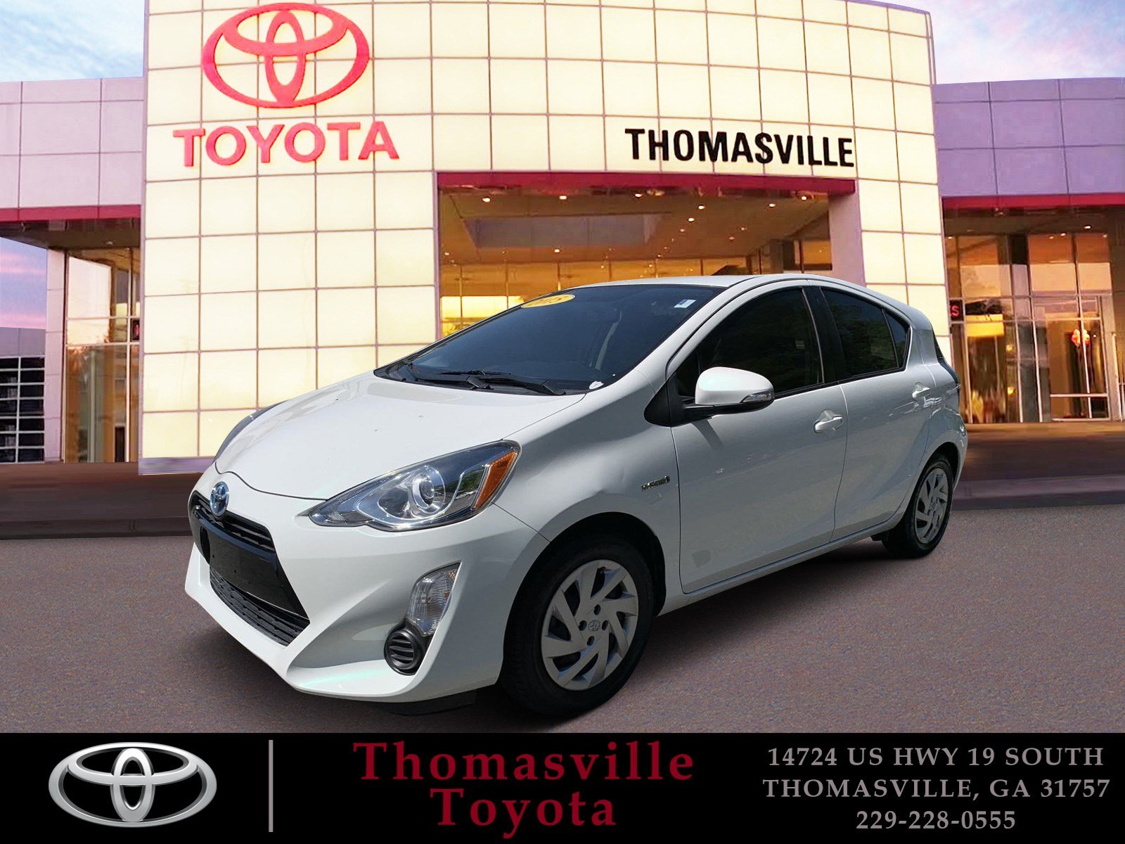 Pre-Owned 2015 TOYOTA PRIUS C ONE