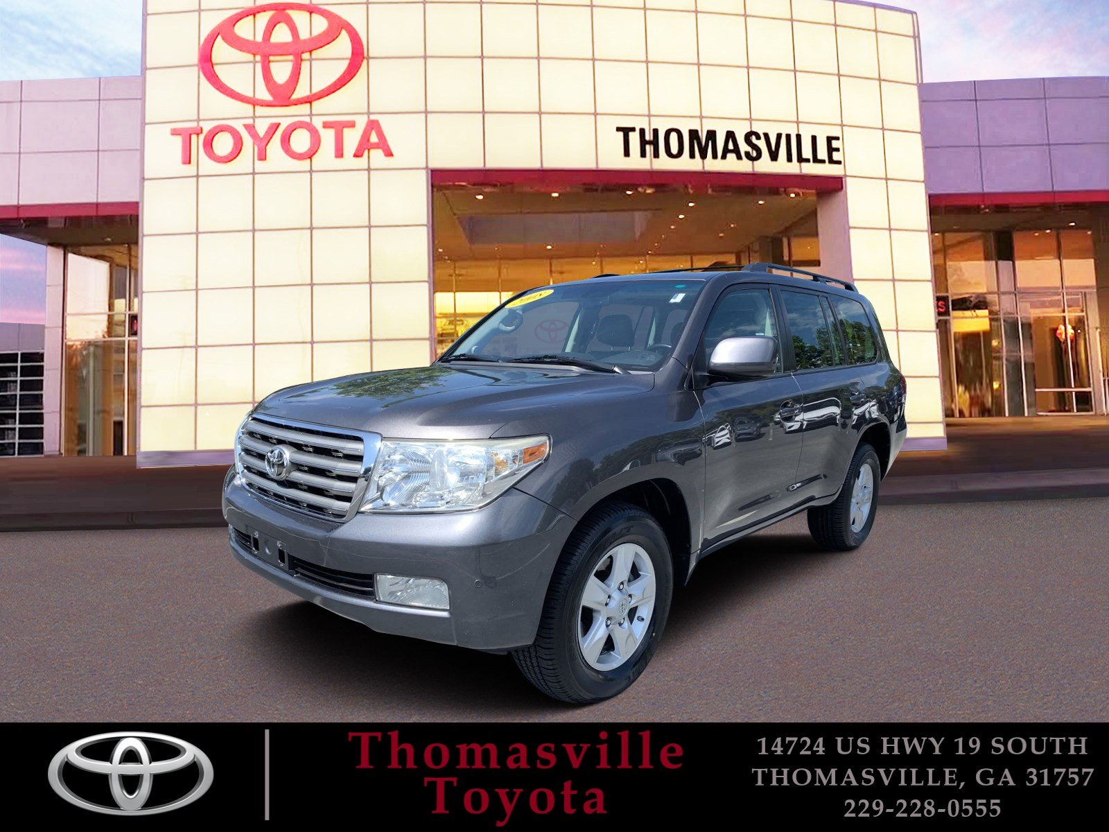 Pre-Owned 2008 TOYOTA LAND CRUISER BASE