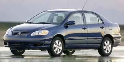 Pre-Owned 2003 TOYOTA COROLLA LE